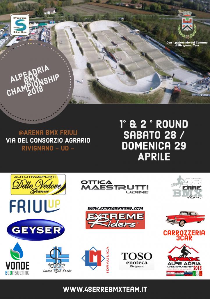 1° & 2° Round Alpeadria BMX Championship 2018 | Rivignano 28 - 29 Aprile