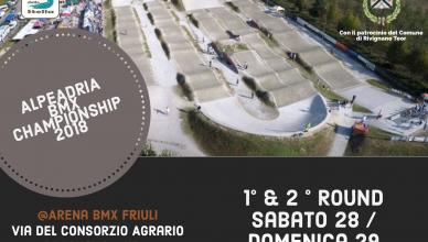 Anteprima - 1° & 2° Round Alpeadria BMX Championship 2018 | Rivignano 28 - 29 Aprile