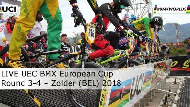 Copertina LIVE UEC BMX European Cup – Round 3-4 – Zolder (BEL) 2018