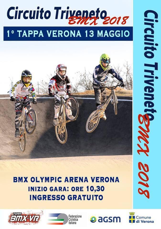 1° Tappa Circuito Triveneto – Verona 13 Maggio 2018