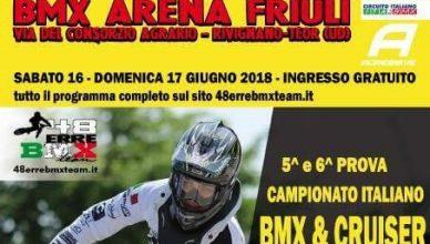 5° e 6° Prova Circuito Italiano – Rivignano 16-17 Giugno 2018 - Locandina