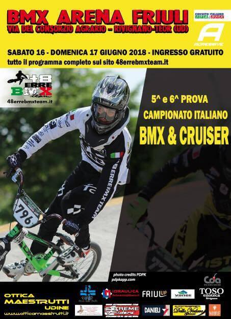 5° e 6° Prova Circuito Italiano – Rivignano 16-17 Giugno 2018