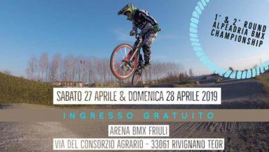 1° & 2° Round Alpeadria BMX Championship 2019 - Rivignano 27-28 Aprile