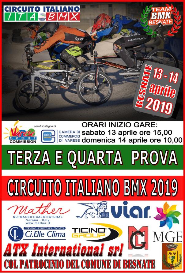3° e 4° Prova Circuito Italiano – Besnate 13-14 Aprile 2019