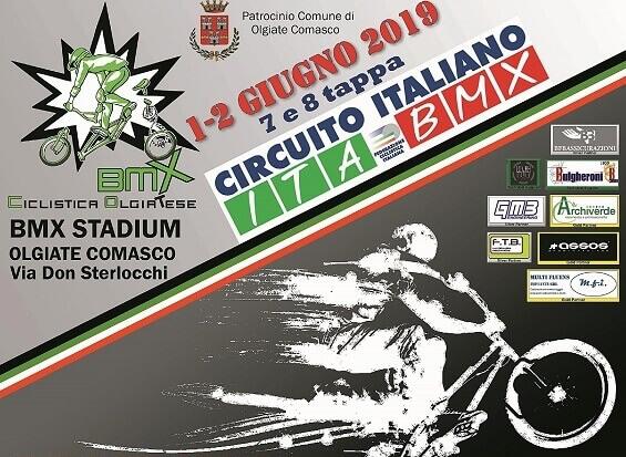 Anteprima 7′ e 8′ tappa circuito italiano bmx – Olgiate Comasco – 1 e 2 Giugno 2019